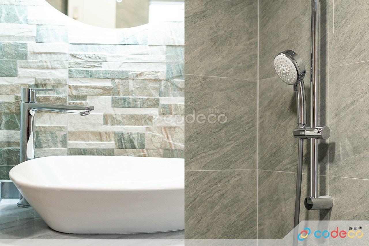 居屋設計參考 浴室企缸改日式風呂 磁磚