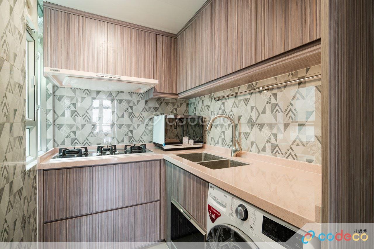 居屋設計參考 開放式廚房