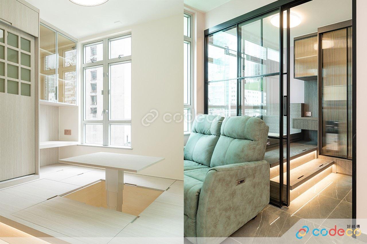 白居二尚翠苑設計參考 居屋拆牆做和室 浴室日式風呂