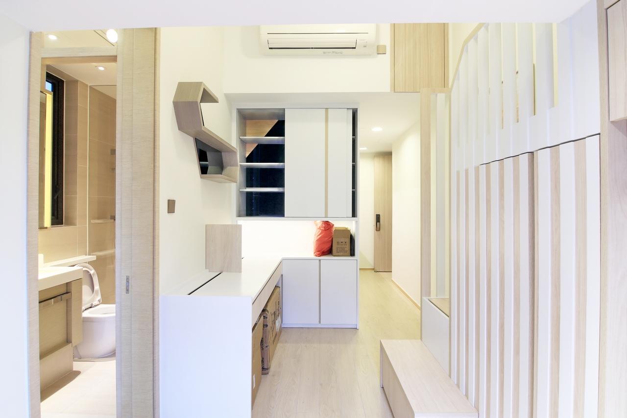 下葵涌豐飯廳裝修無印風室內設計