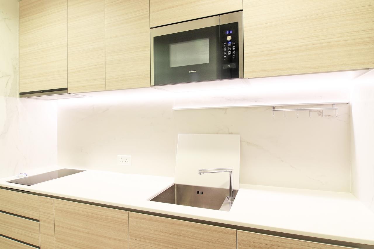 下葵涌豐寓廚房裝修無印風室內設計