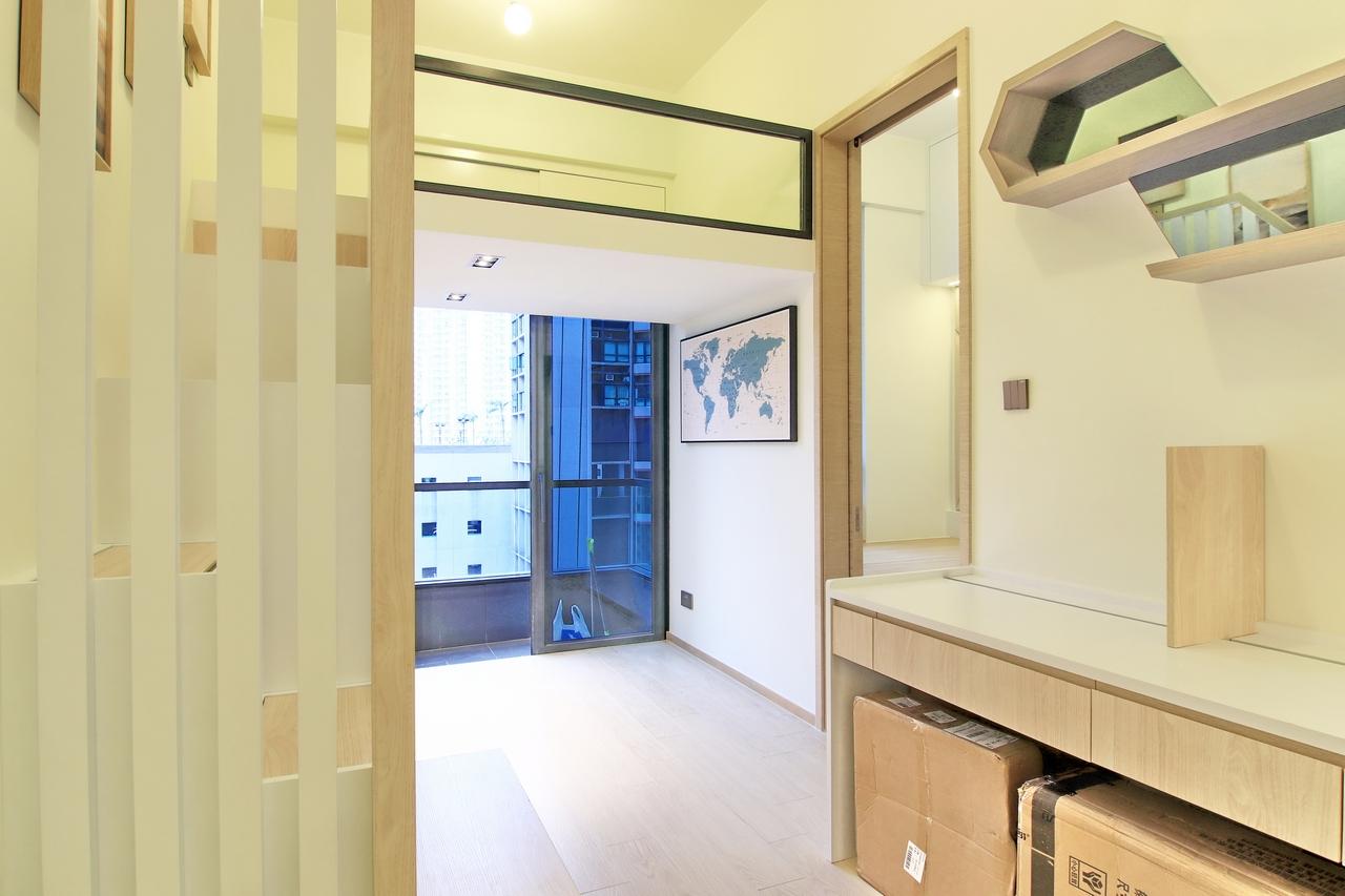 下葵涌豐寓大廳裝修無印風室內設計