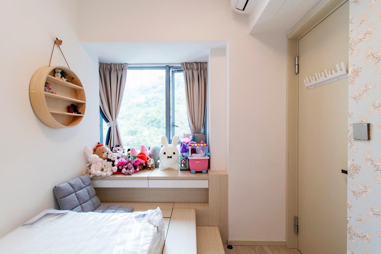 數碼港貝沙灣客房裝修北歐風室內設計