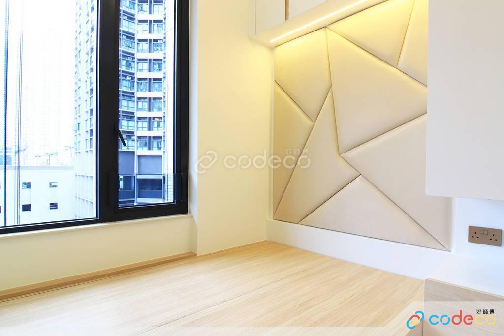 下葵涌豐寓主人房裝修無印風室內設計