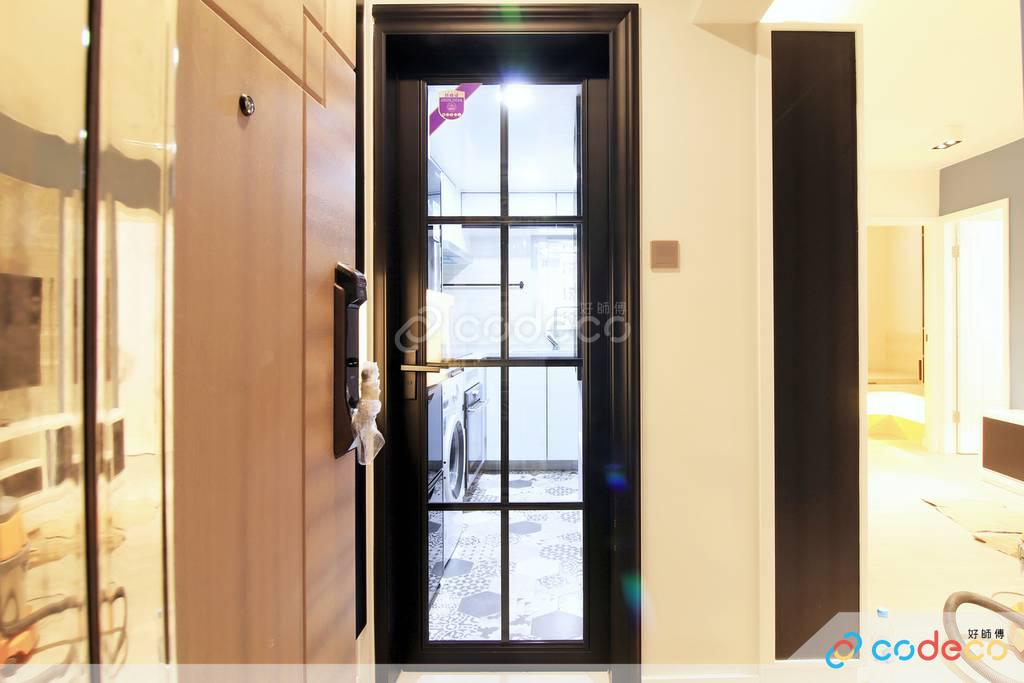 屯門龍門居廚房裝修現代簡約風室內設計