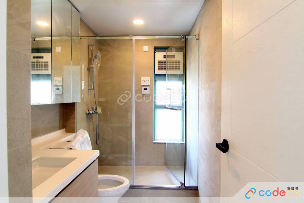 大埔區帝欣苑廁所裝修北歐風室內設計
