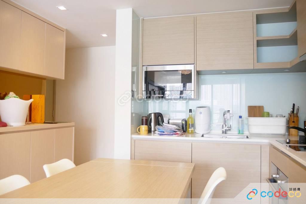 將軍澳天晉廚房裝修奢華風室內設計