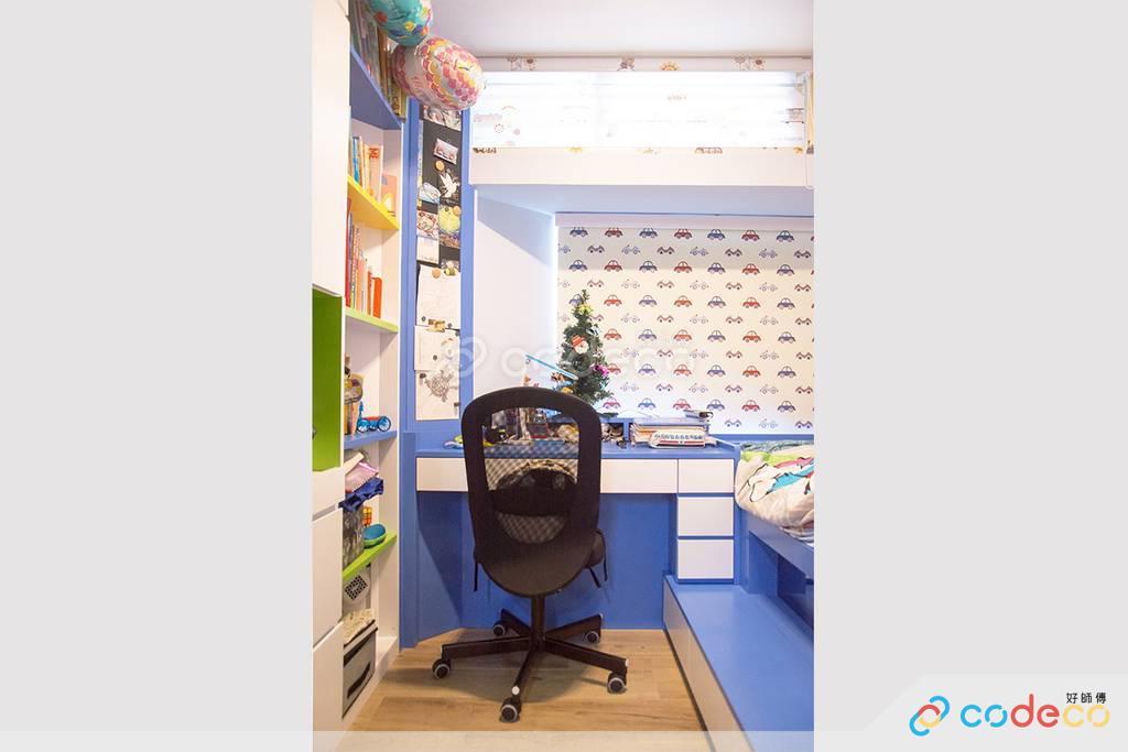藍田麗港城客房裝修北歐風室內設計