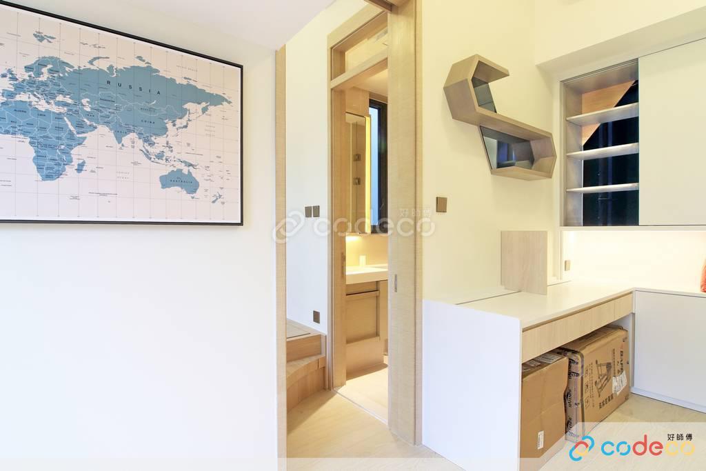 下葵涌豐寓飯廳裝修無印風室內設計