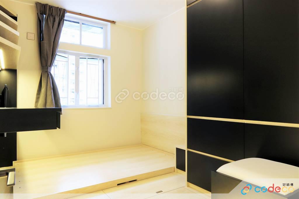 屯門龍門居客房裝修現代簡約風室內設計