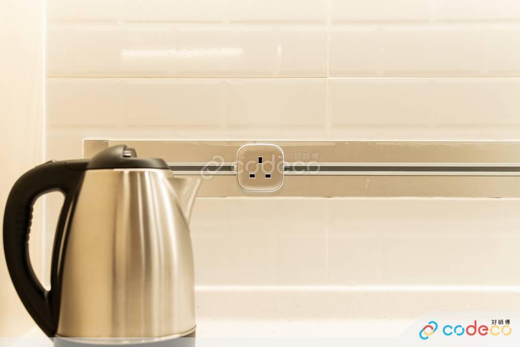 觀塘海景大廈廚房裝修無印風室內設計