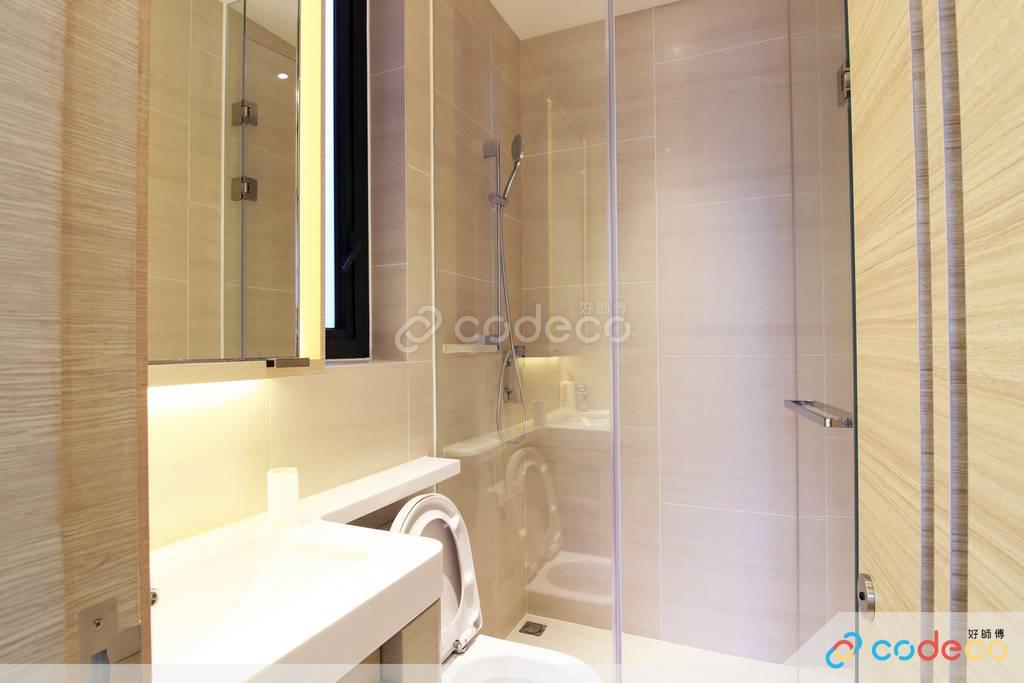 下葵涌豐寓廁所裝修無印風室內設計