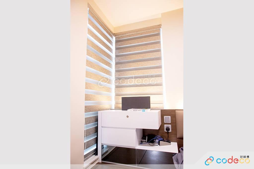 藍田麗港城主人房裝修北歐風室內設計