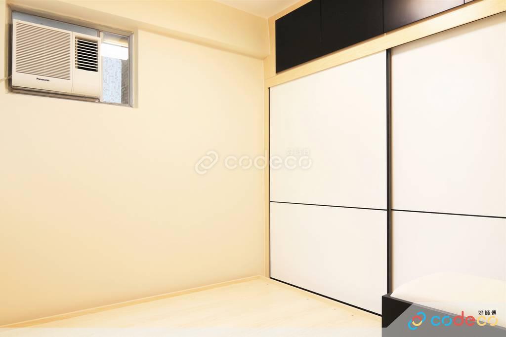 屯門龍門居主人房裝修現代簡約風室內設計